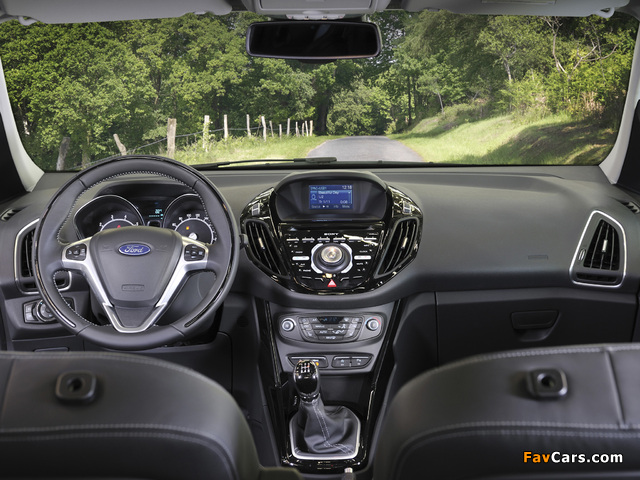 Ford B-MAX 2012 wallpapers (640 x 480)