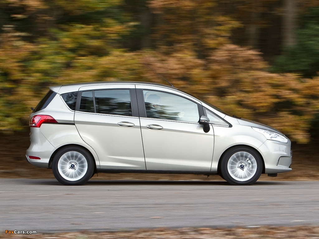 Images of Ford B-MAX UK-spec 2012 (1024 x 768)