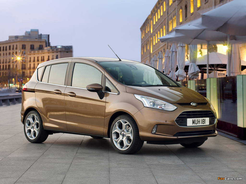 Images of Ford B-MAX 2012 (1024 x 768)