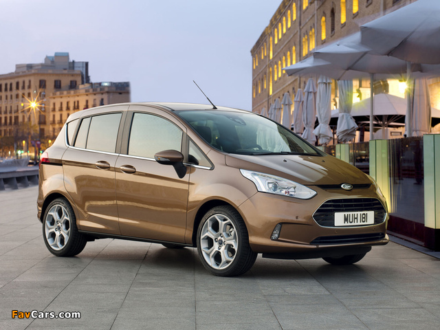 Images of Ford B-MAX 2012 (640 x 480)