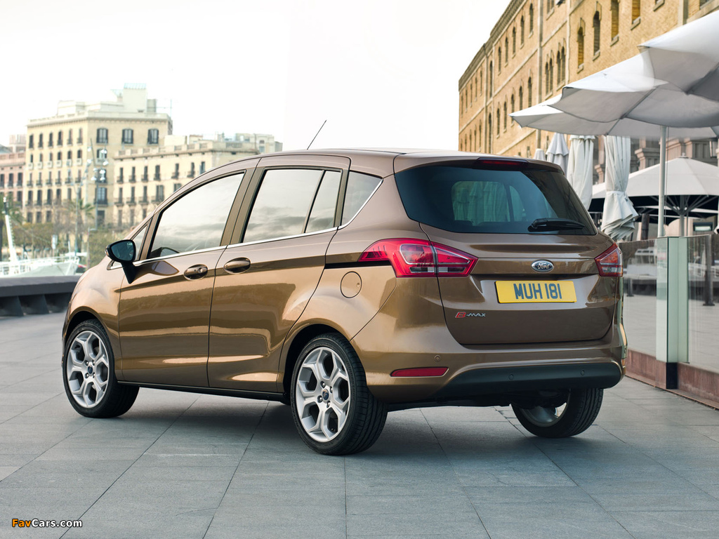 Photos of Ford B-MAX 2012 (1024 x 768)