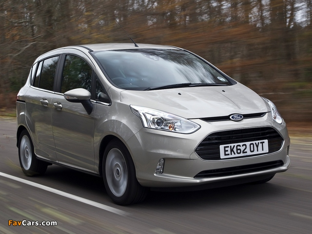 Photos of Ford B-MAX UK-spec 2012 (640 x 480)