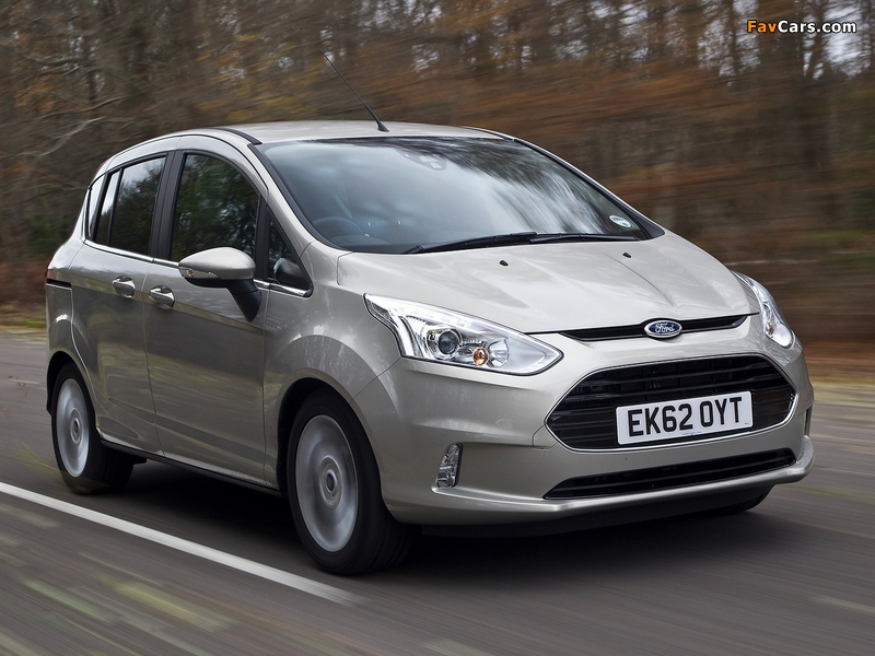 Photos of Ford B-MAX UK-spec 2012 (800 x 600)