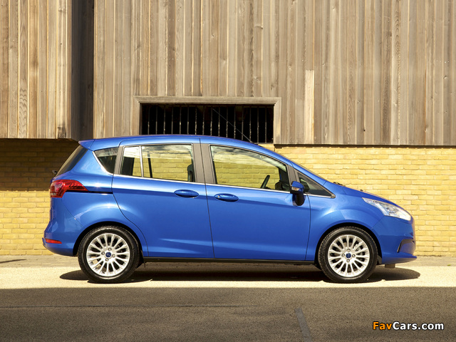 Pictures of Ford B-MAX UK-spec 2012 (640 x 480)