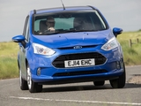 Pictures of Ford B-MAX UK-spec 2012