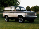 Ford Bronco II XLT 1988 pictures