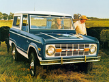 Ford Bronco 1966–77 images
