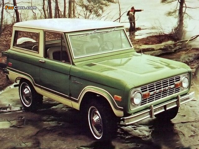 Ford Bronco 1966–77 photos (640 x 480)
