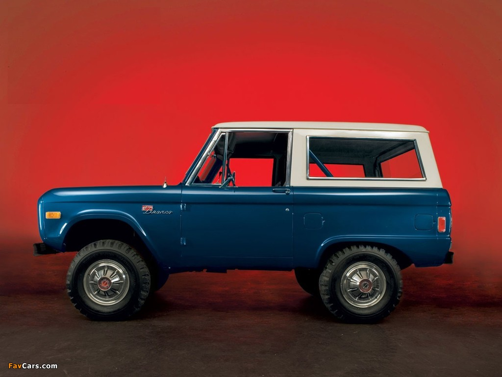 Ford Bronco 1966–77 wallpapers (1024 x 768)
