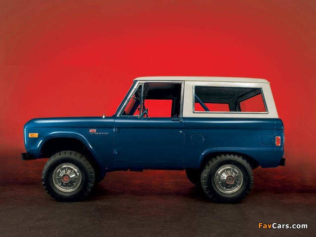 Ford Bronco 1966–77 wallpapers (640 x 480)