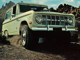 Ford Bronco 1966–77 wallpapers
