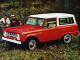Ford Bronco Wagon (U15) 1967 images