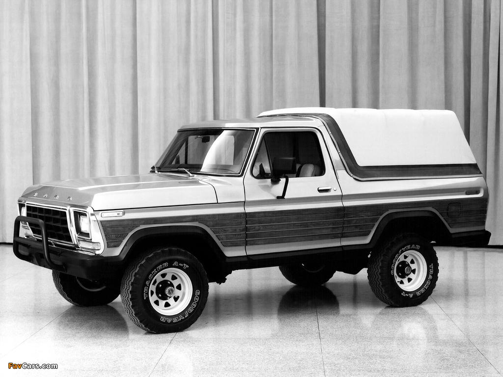 Ford Bronco Concept 1979 photos (1024 x 768)