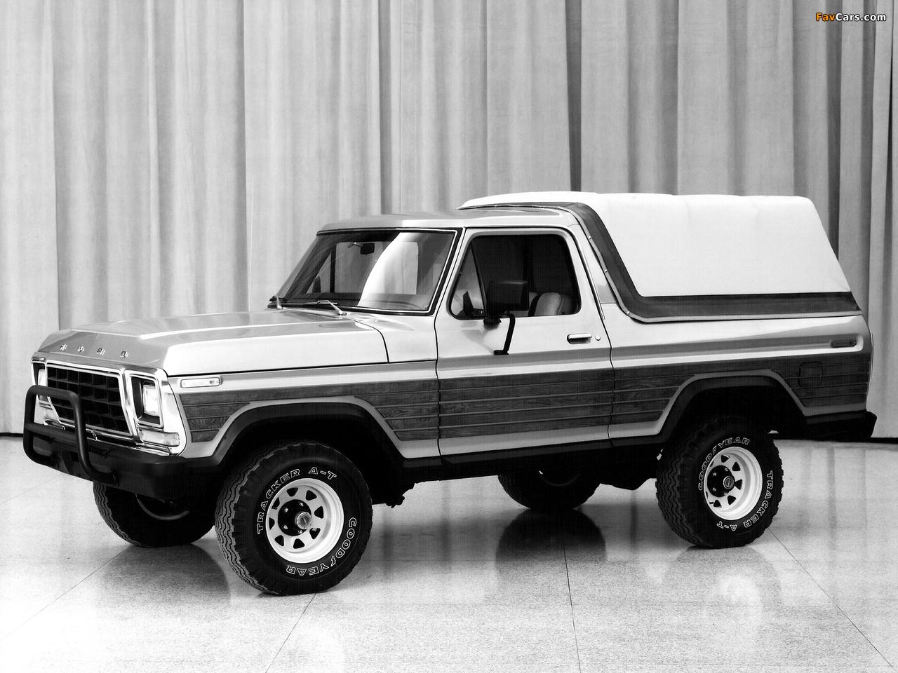 Ford Bronco Concept 1979 photos (1280 x 960)