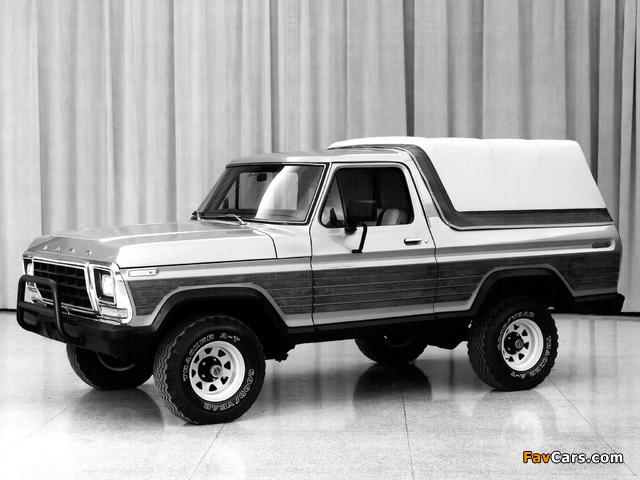 Ford Bronco Concept 1979 photos (640 x 480)
