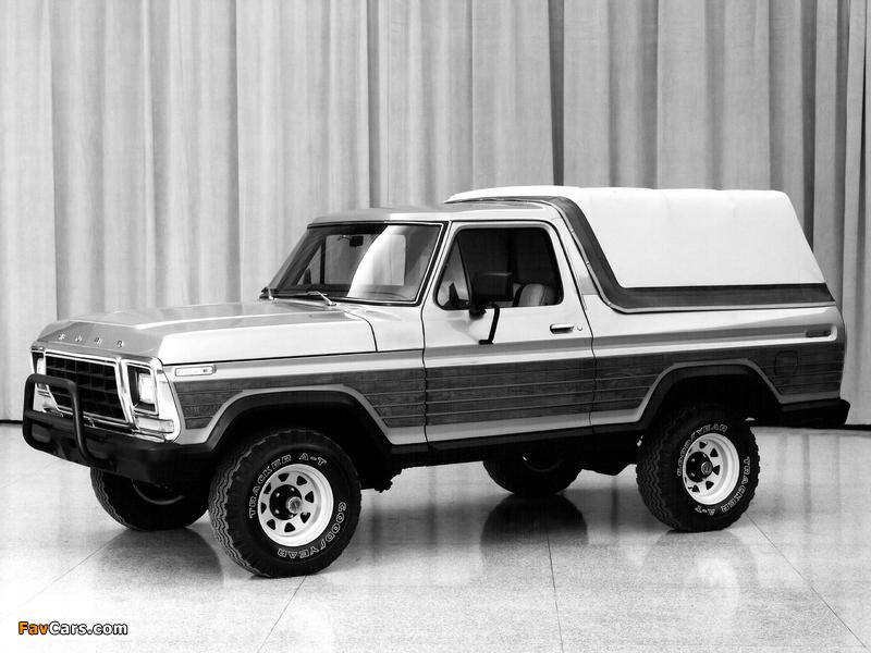 Ford Bronco Concept 1979 photos (800 x 600)