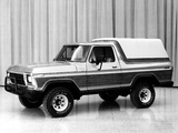 Ford Bronco Concept 1979 photos