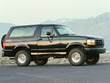 Ford Bronco Nite 1992 pictures