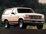 Ford Bronco 1992–96 wallpapers