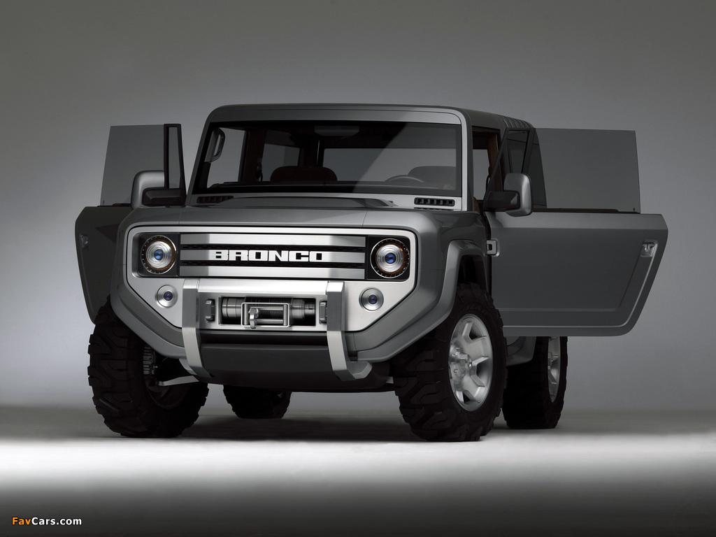 Ford Bronco Concept 2004 photos (1024 x 768)