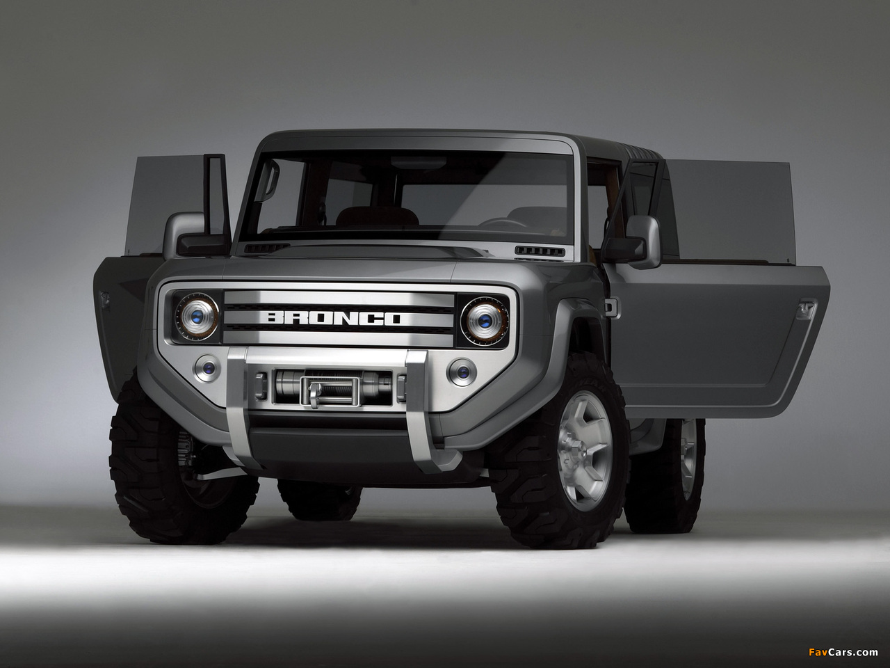 Ford Bronco Concept 2004 photos (1280 x 960)