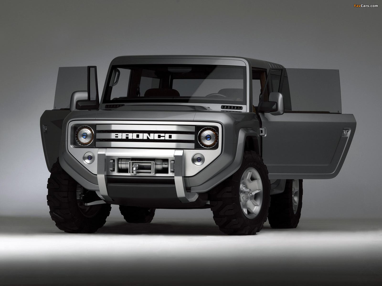 Ford Bronco Concept 2004 photos (1600 x 1200)