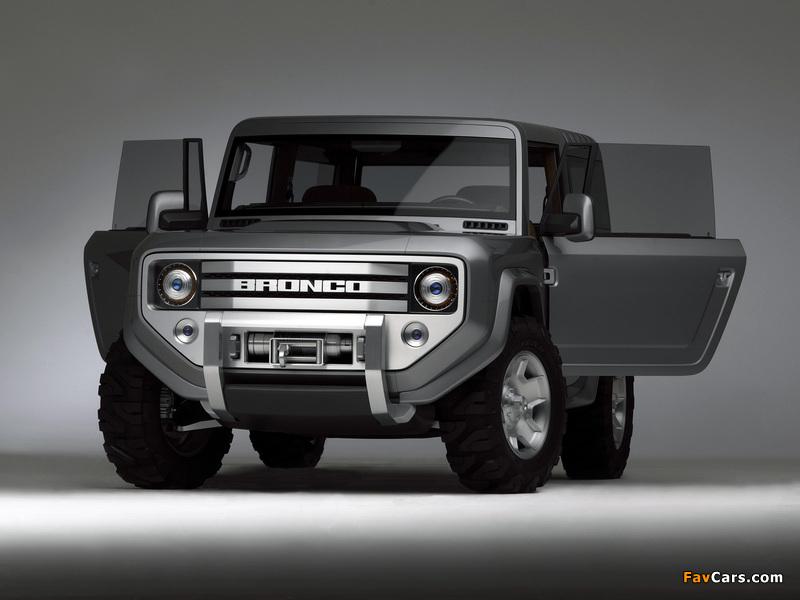 Ford Bronco Concept 2004 photos (800 x 600)
