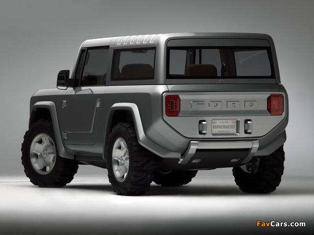 Ford Bronco Concept 2004 photos (640 x 480)
