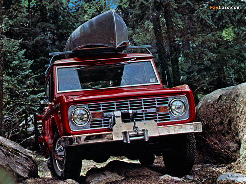 Images of Ford Bronco 1966–77 (800 x 600)