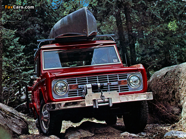 Images of Ford Bronco 1966–77 (640 x 480)