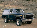Images of Ford Bronco 1980–86