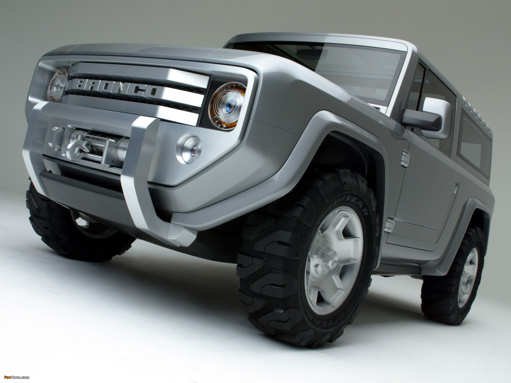 Images of Ford Bronco Concept 2004 (2048 x 1536)