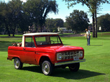 Photos of Ford Bronco 1966–77