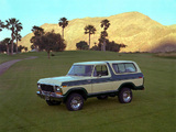 Photos of Ford Bronco 1978–79