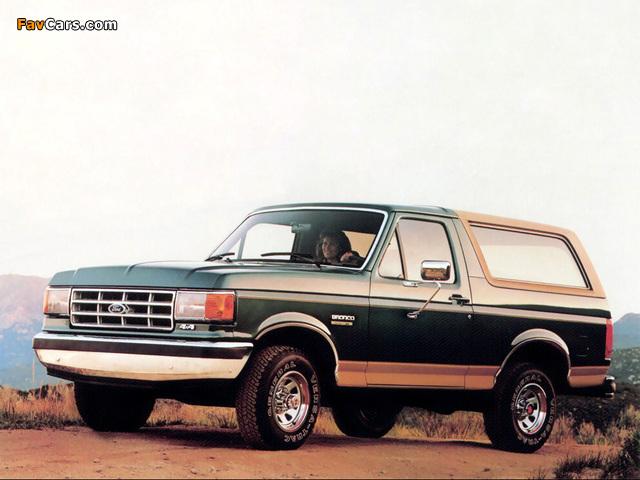 Photos of Ford Bronco 1987–91 (640 x 480)