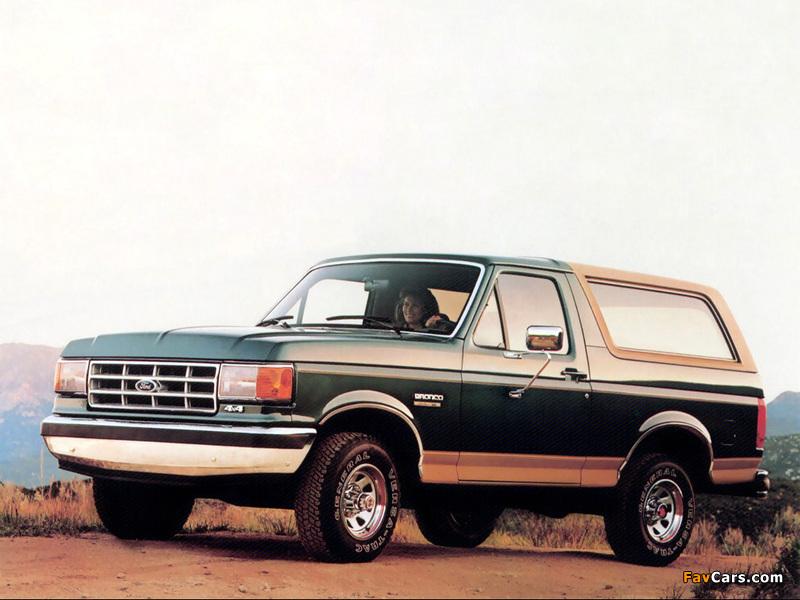 Photos of Ford Bronco 1987–91 (800 x 600)