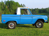 Pictures of Ford Bronco 1966–77