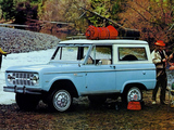 Pictures of Ford Bronco Wagon (U15) 1967