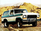 Pictures of Ford Bronco 1978–79