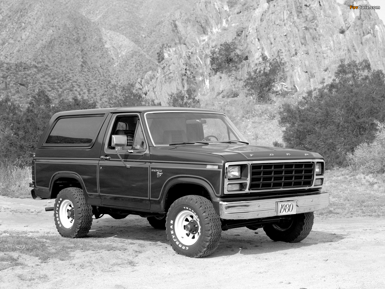 Pictures of ford bronco 1980 86