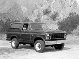 Pictures of Ford Bronco 1980–86