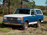 Pictures of Ford Bronco 1987–91