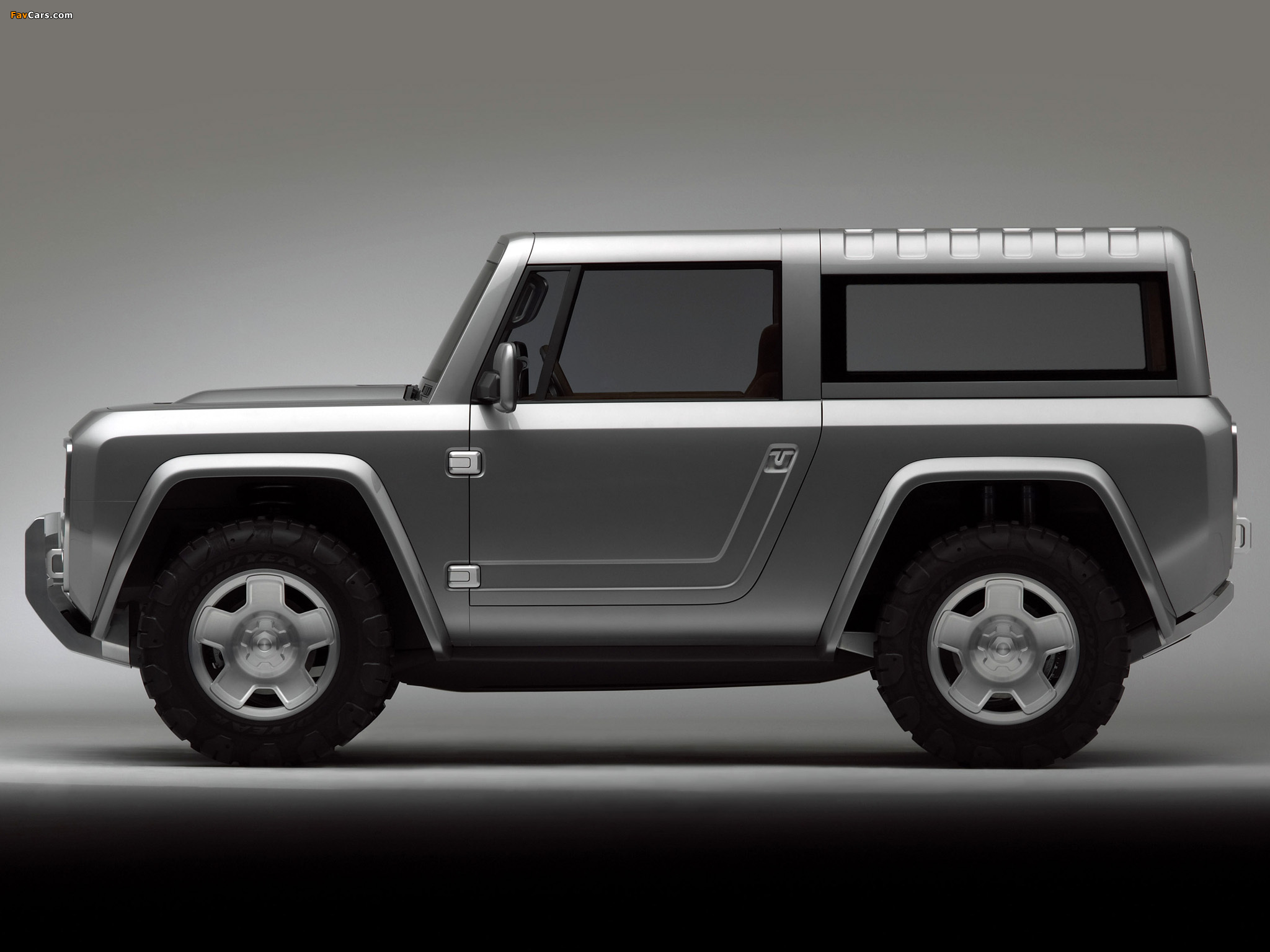 Pictures of Ford Bronco Concept 2004 (2048 x 1536)