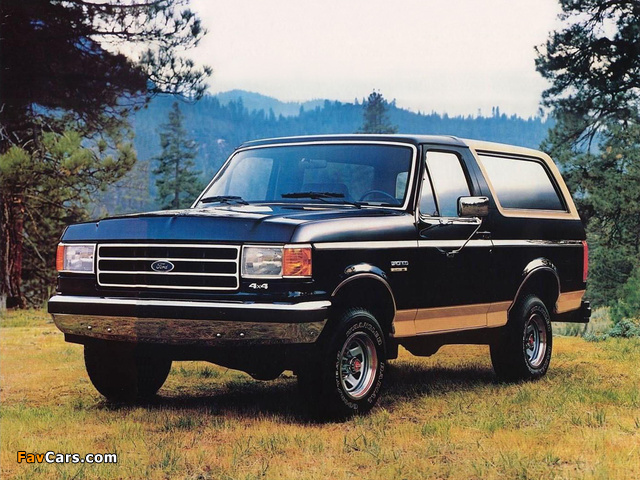 Ford Bronco 1987–91 wallpapers (640 x 480)
