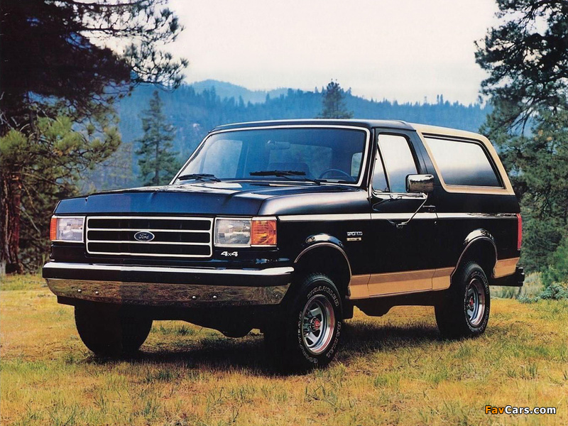 Ford Bronco 1987–91 wallpapers (800 x 600)