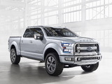 Pictures of Ford Atlas Concept 2013