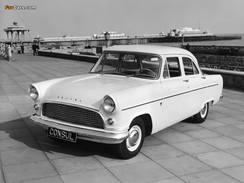 Ford consul mkii 1956 62 wallpapers 800x600 for Consul consulis