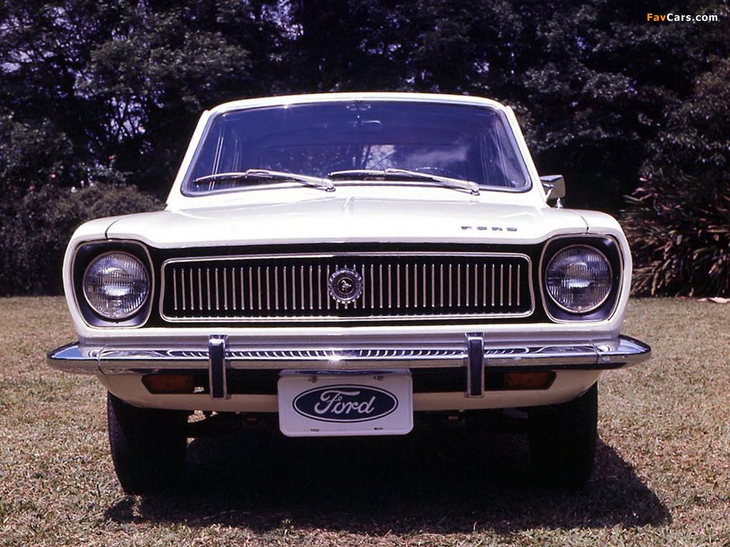 Ford Corcel 2-door 1973–77 photos (1024 x 768)