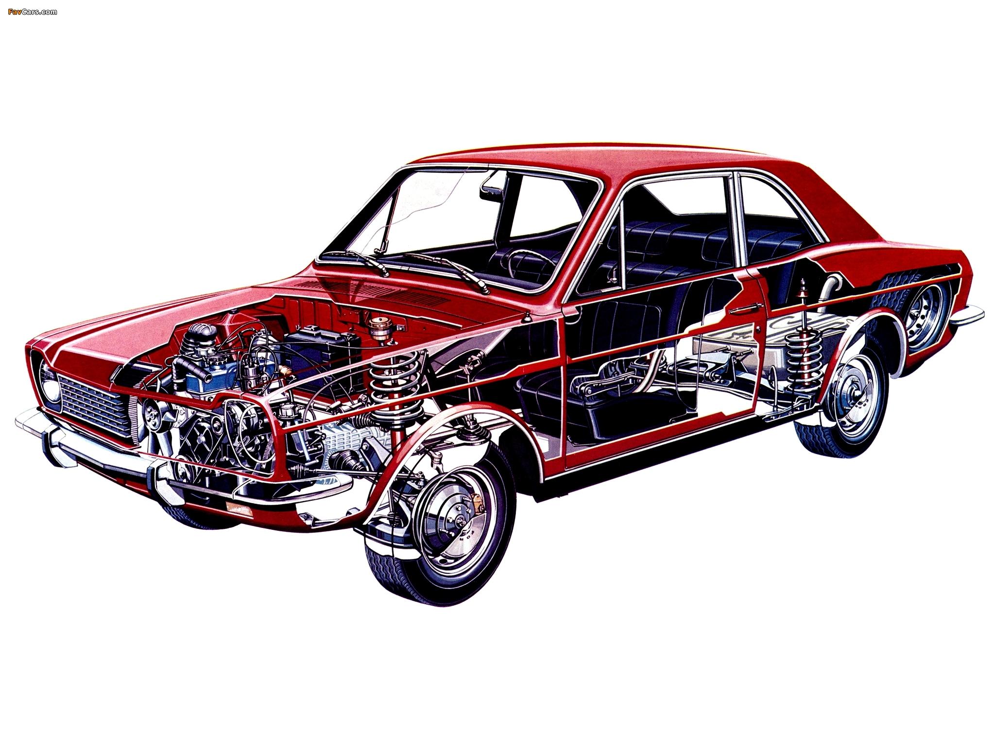 Pictures of Ford Corcel 2-door 1973–77 (2048 x 1536)