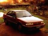 Pictures of Ford Corsair Ghia Sedan (UA) 1990